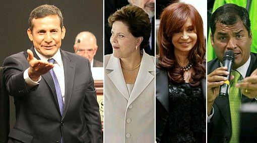 Catorce presidentes asistirán a la toma de mando de Ollanta Humala