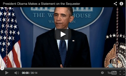 Watch President Obama's statement from the Briefing Room