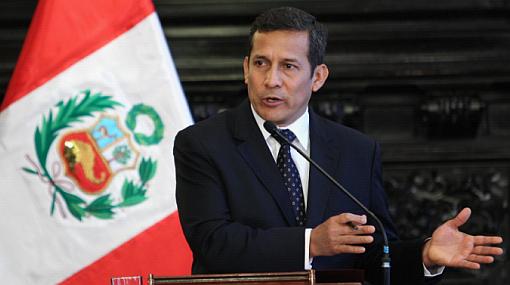 Popularidad de Humala subió dos puntos, según encuesta de Datum