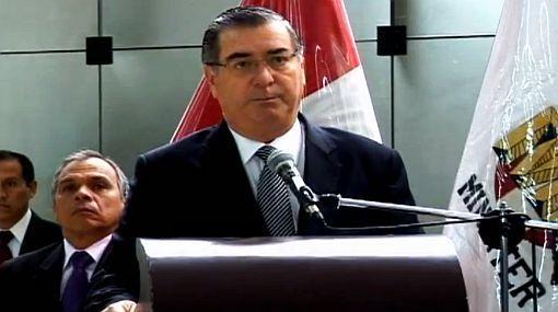 Delincuencia en Lima, Inseguridad ciudadana, Ministerio de Interior, Óscar Valdés Dancuart