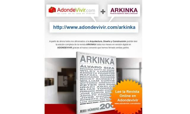 Adondevivir.com y Revista Arkinka suscriben convenio para difundir sus contenidos