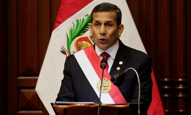 Así fue el Mensaje a la Nación por Fiestas Patrias de Ollanta Humala. (Foto: Reuters/Video: América Noticias)
