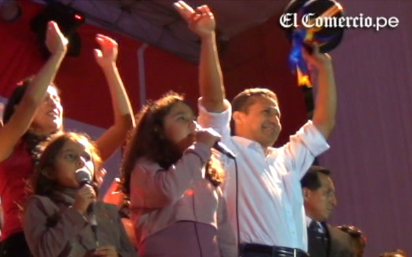 Ollanta Humala prometió