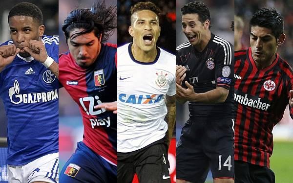 RECUENTO 2012: así le fue a los futbolistas peruanos en el extranjero