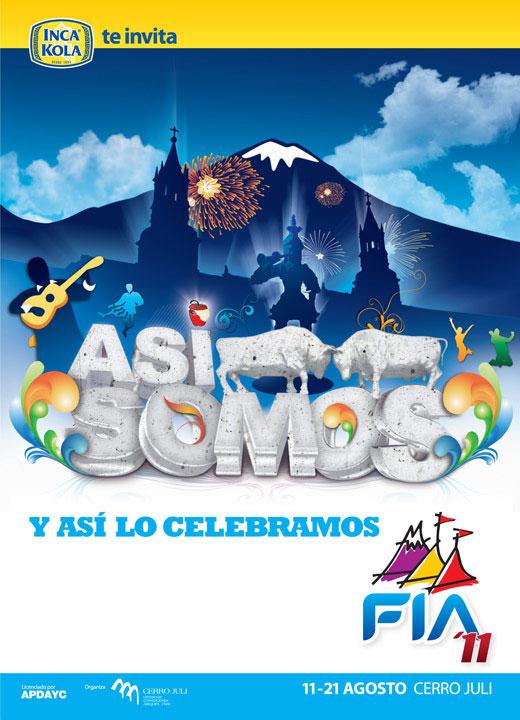 Publicidad FIA Arequipa 2011 banner