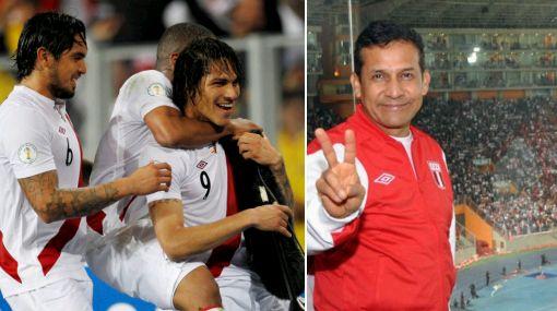 Humala sobre victoria de Perú: