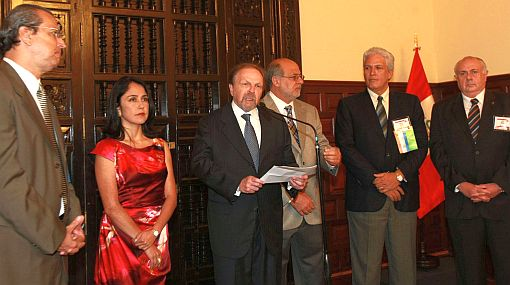 Ollanta Humala, Nadine Heredia, Salomón Lerner Ghitis