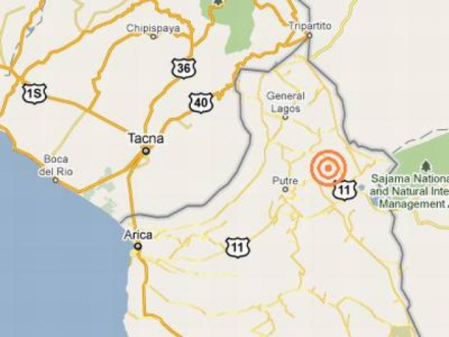 Temblor remece el sur del Perú