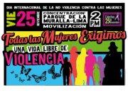 No más violencia contra las mujeres - Colectivo 25 de noviembre
