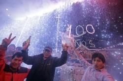 Cusqueños celebran el centenario de Machupicchu