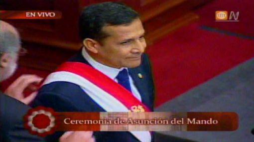 Ollanta Humala juró como presidente