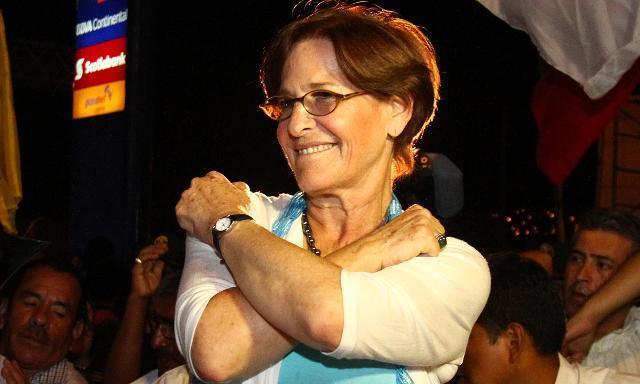 Susana Villarán.