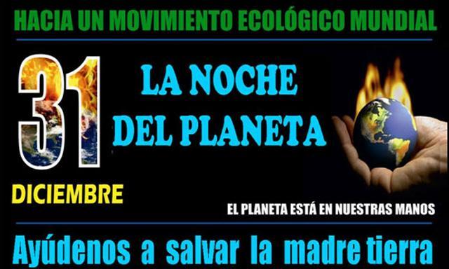 La noche del Planeta.