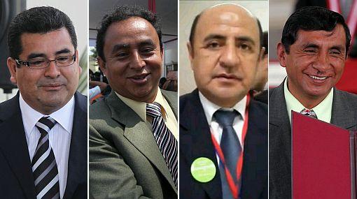 Quieren revocar a 11 presidentes regionales, entre ellos a Santos