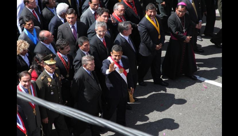 Ollanta Humala, Tacna