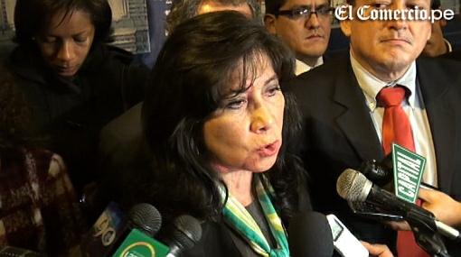 Martha Chávez fue suspendida del Congreso por 120 días