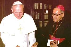 Karol Wojtyla Juan Pablo II Oscar Romero martirio El Salvador