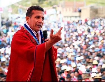 Ollanta Humala, presidente de la República. Foto: Los Andes
